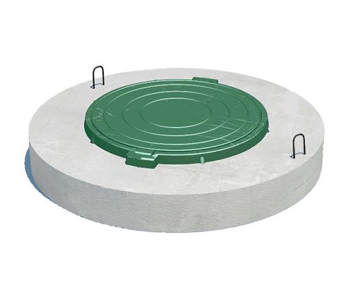 КСП с встроенным люком полимерным
